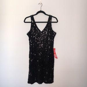 NWT | OLIVIA MATTHEWS | 10 | FULLY SEQUINED DRESS